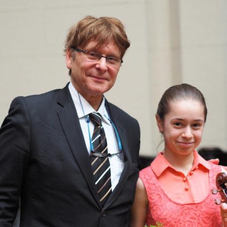 Скрипка в подарок юной скрипачке из Красноярска