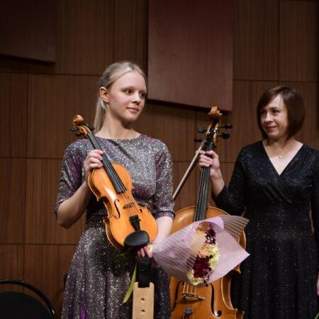 Скрипка в дар Среднему специальному музыкальному колледжу г.Уфа