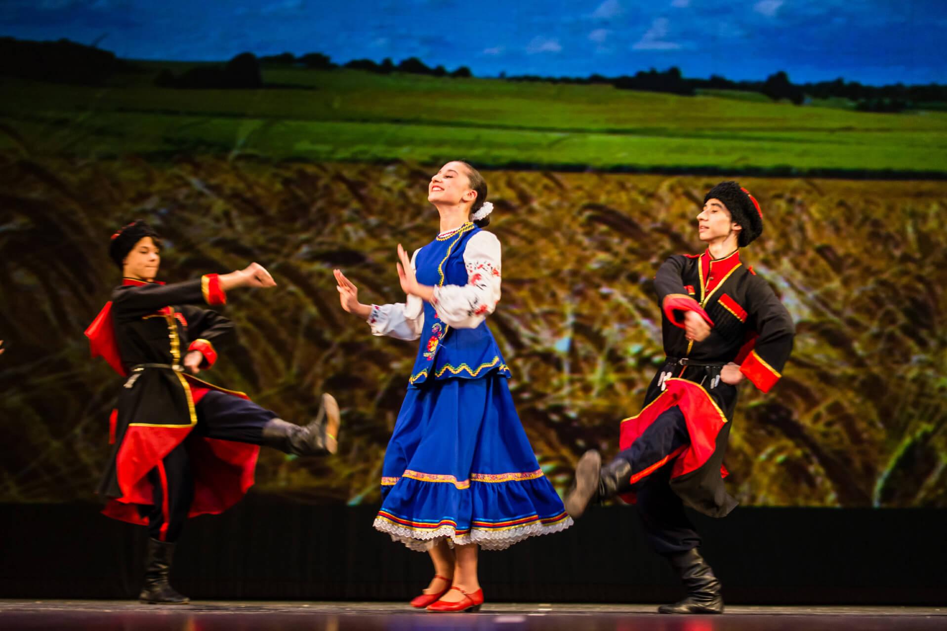 Образцовый коллектив ансамбль танца «Карусель», Москва