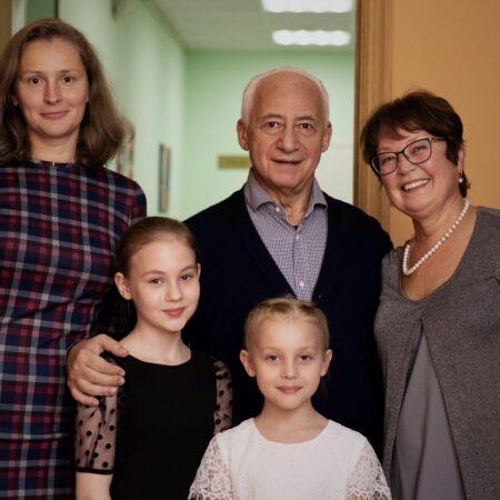 Встреча Маэстро Владимира Теодоровича Спивакова и юных музыкантов Североморска